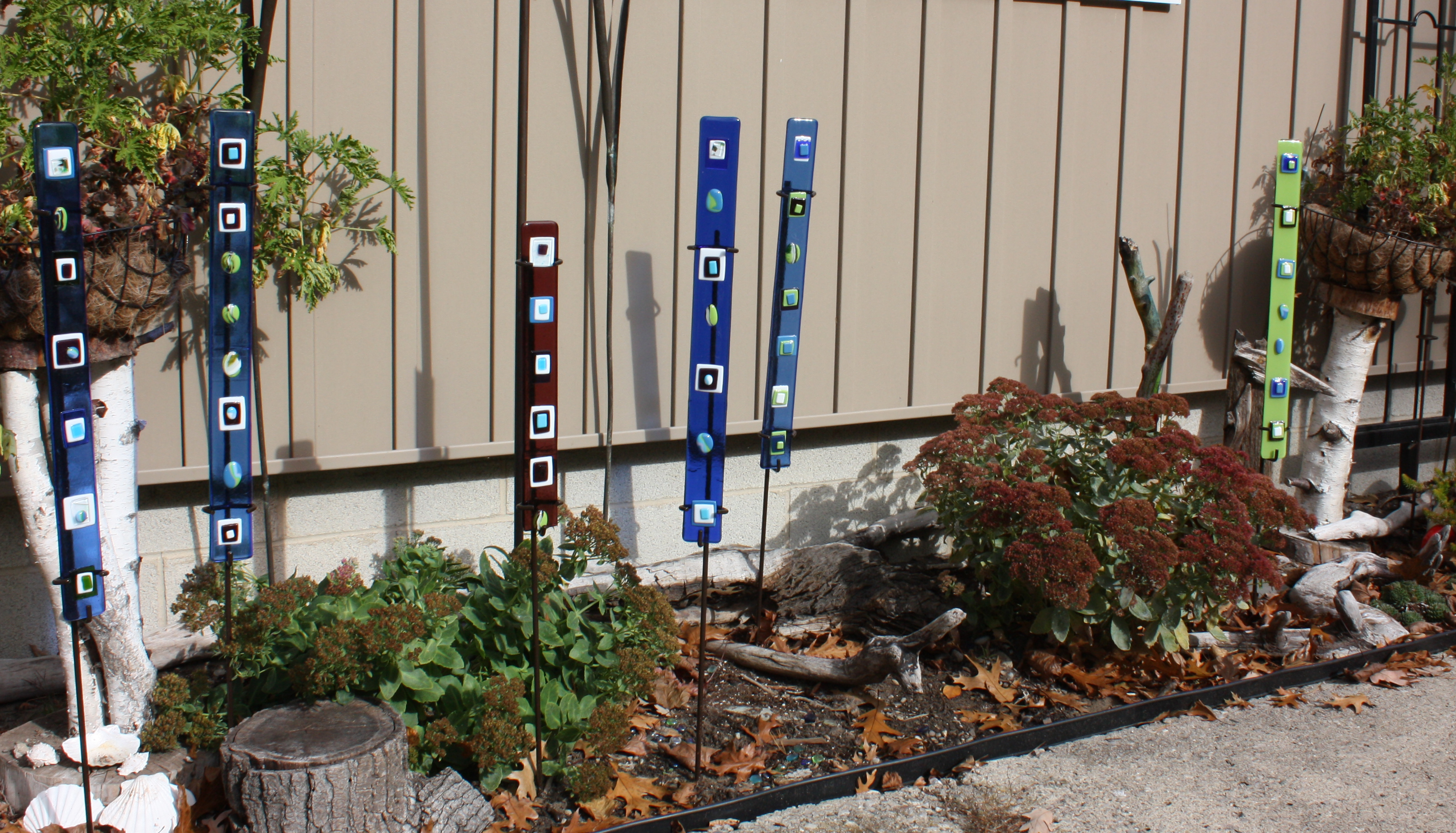 life a my gardenstakes crazy hand garden as farmers painted stakes weblog wife pi